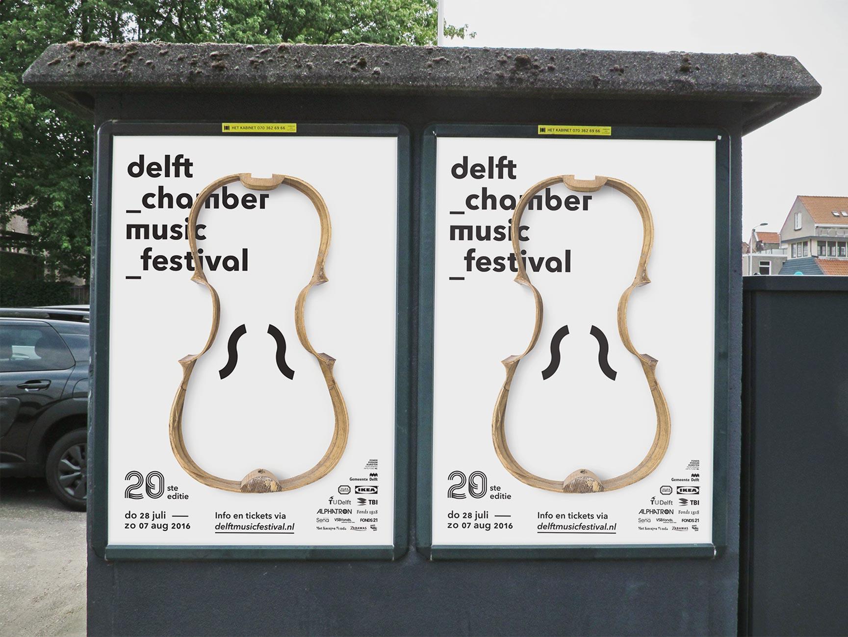grafisch ontwerp poster delft chamber music festival de design club