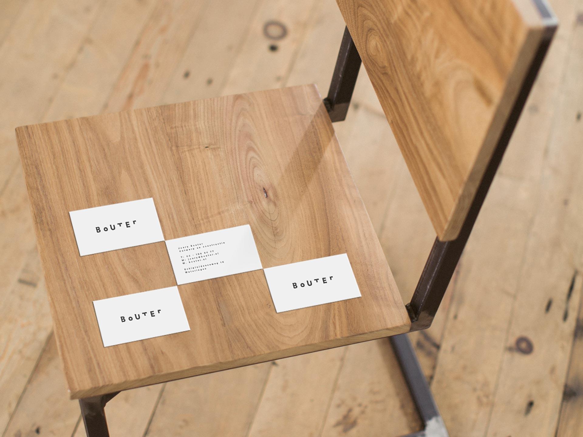 grafisch ontwerp visitekaartje bouter delft de design club