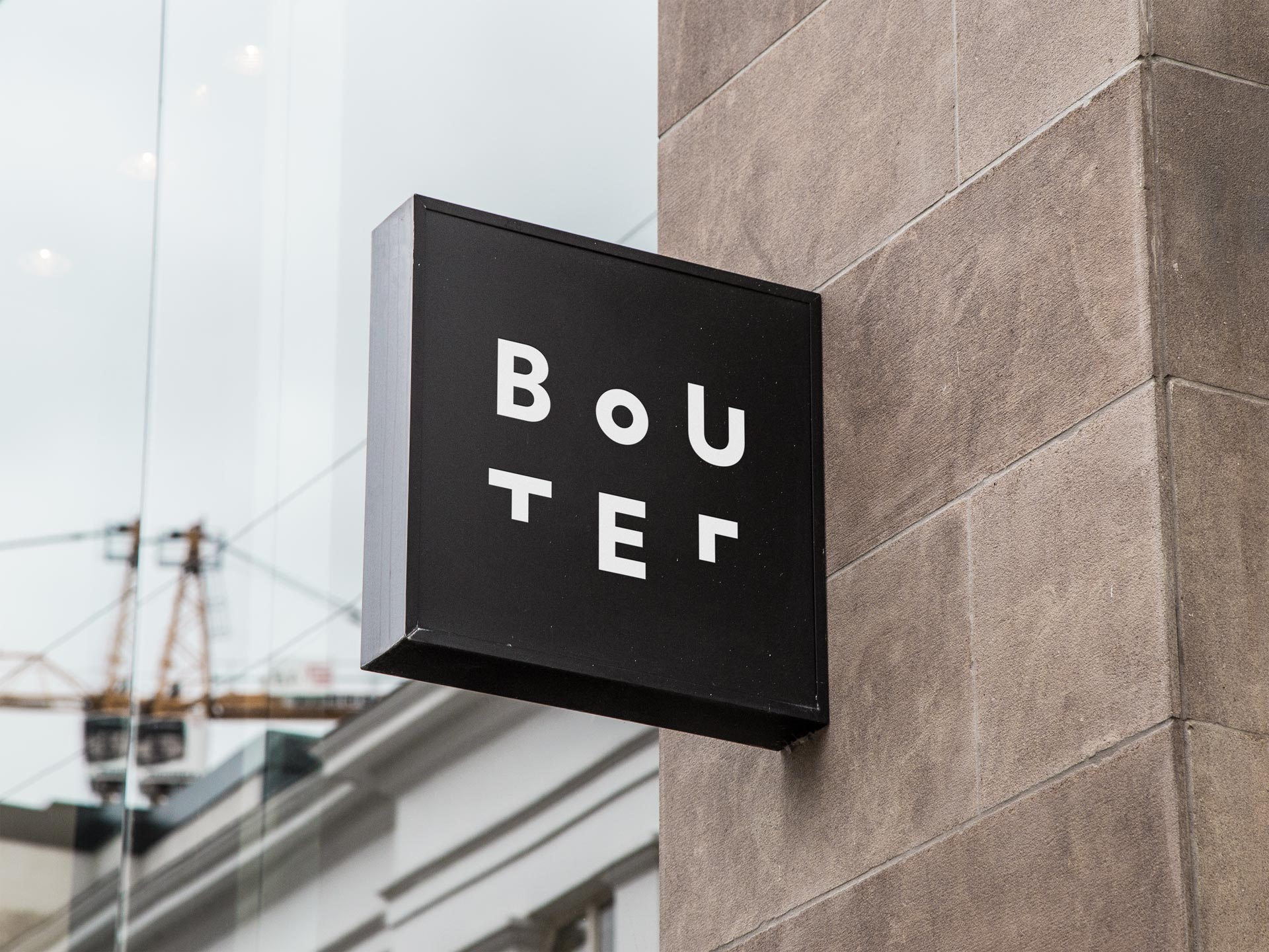 grafisch ontwerp bord sign bouter de design club